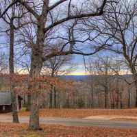Dining places at Meramec State Park, Missouri