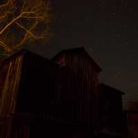 Night at the Mill at Montauk State Park, Missouri