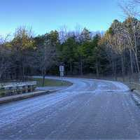 Scenic Roadway in the Park at Montauk State Park, Missouri