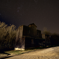 Stars over the Montauk Mill