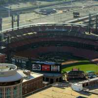 Baseball Stadium in St. Louis, Missouri