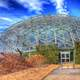Sky behind Climatron in St. Louis, Missouri
