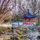 Temple place in Chinese Gardens in St. Louis, Missouri