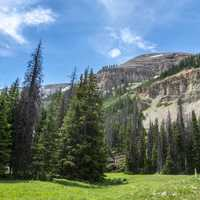 Scenic view in the Gravelly Range of Beaverhead-Deerlodge National Forest