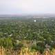 Overlook of the landscape of Billings, Montana
