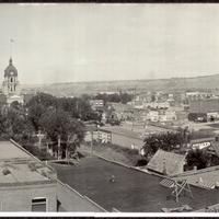 Panoramic View of Downtown Billings, Montana 1915