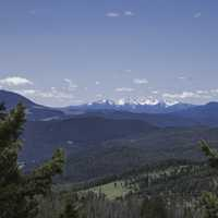 View of the Elkhorn Mountain Range