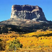 Chief Mountain at Glacier National Park, Montana