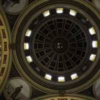 The Dome of the Montana State Capital Building in Helena