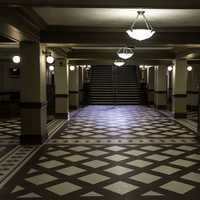 Lower Level of the Capital Building in Helena