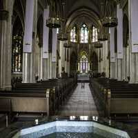 Main Cathedral Worship Area in Helena