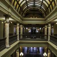 Second Floor of the capital Building in Helena