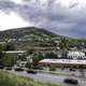 Storm and rain clouds over the Mount Helena Landscape