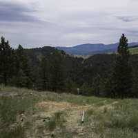 View from near the top of Mount Ascension in Helena
