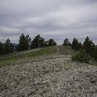 Walking the entertainment path on Mount Ascension in Helena