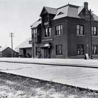 Second Livingston NPRR Depot, 1894 in Montana