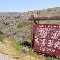 Site of the Smith Mine disaster near Red Lodge, Montana
