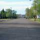 Streets of Terry, Montana with Trees