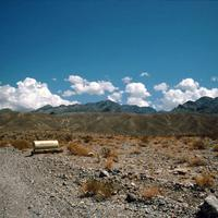 Landscape of Death Valley National Park near grapevine in Nevada