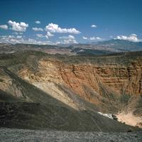Ubehebe Crater at Death Valley National Park, Nevada