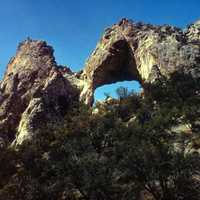 Lexington Arch in Great Basin National Park, Nevada