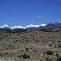 Park from Lexington Road in Great Basin National Park, Nevada