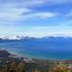 Aerial Full View of Scenic Lake Tahoe