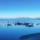 Bay and lakeshore landscape scenic at Lake Tahoe