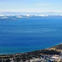 Overview Scenic landscape of Lake Tahoe, Nevada