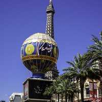Another view of the Paris Hotel in Las Vegas, Nevada