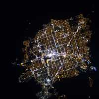 Astronaut Photograph of Las Vegas, Nevada
