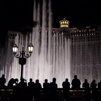 Bellagio Hotel, Casino, and water Fountains in Las Vegas, Nevada