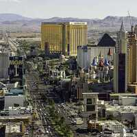 Cityscape of the Las Vegas Strip, Nevada