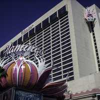 The flamingo hotel and casino in Las Vegas, Nevada