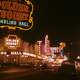 Golden Nugget and Pioneer Club in 1952 in Las Vegas, Nevada