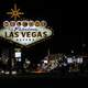Las Vegas Sign at Night, Nevada