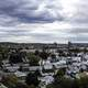 Panorama landscape of Manchester, New Hampshire from Rock Rimmon