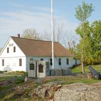 1846 town hall in Lydeborough, New Hampshire