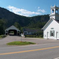 Church and town of Stark, New Hampshire