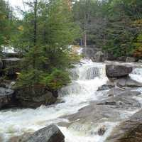 Diana's Baths on Lucy Brook in Bartlett, New Hampshire