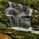 Garwin Falls scenery, New Hampshire
