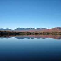 Jerico Lake Landscape in New Hampshire