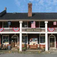 The Brick Store, built in 1854 in Bath, New Hampshire