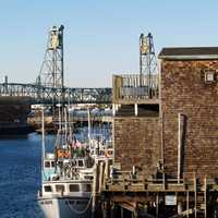 Docks at Portsmouth, New Hampshire