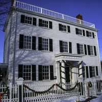 Governor Goodwin Mansion in Portsmouth, New Hampshire
