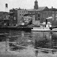 Waterfront in Portsmouth, New Hampshire in 1917