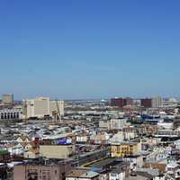 Casinos and cityscape in Atlantic City, New Jersey