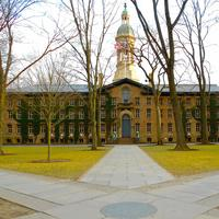 Nassau hall in Princeton, New Jersey