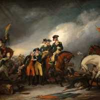 Capture of the Hessians at Trenton, New Jersey