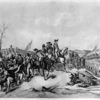 Surrender of the Hessians at Trenton, New Jersey